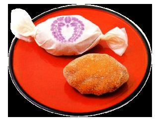 現代に残る古代菓子「ぶと饅頭」