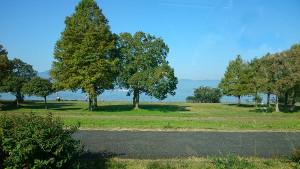 秋のびわ湖