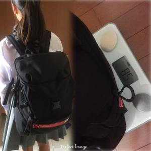 今どきの中学生カバンは重い!