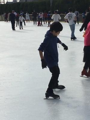スケート初挑戦♪
