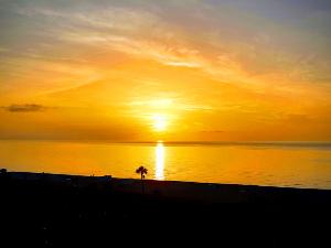 マイアミの朝焼け