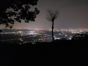 我が町の夜景