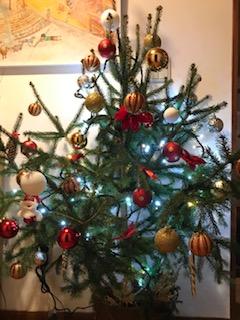 初めてのクリスマスツリー