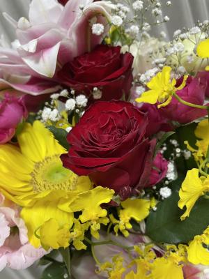花のプレゼント♪